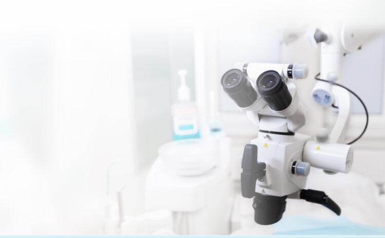 Дентальный микроскоп. 25-ти пятикратное увеличение!